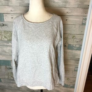 Lou Grey French terry top size S